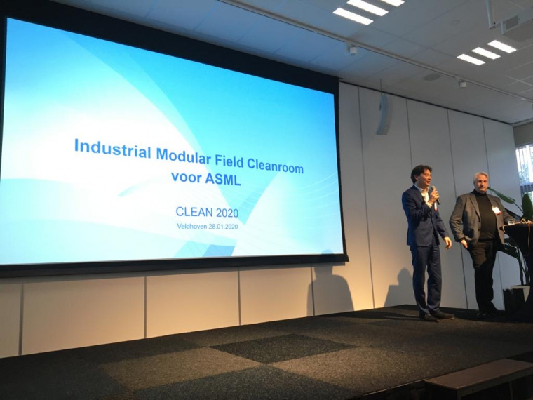 Interflow en ASML presenteren Industrial Modular Field Cleanroom