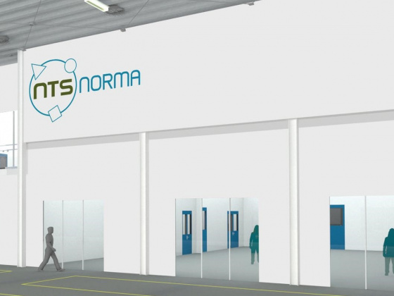 Interflow realiseert cleanroom voor NTS Norma Hengelo
